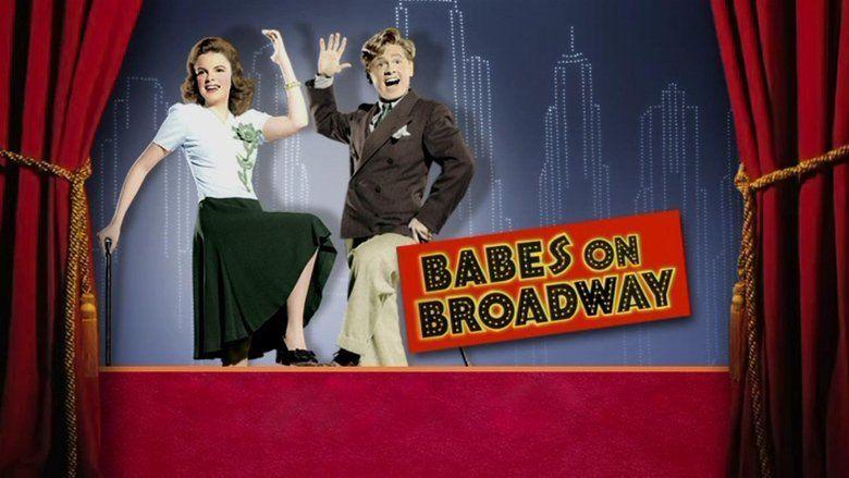 Babes on Broadway movie scenes