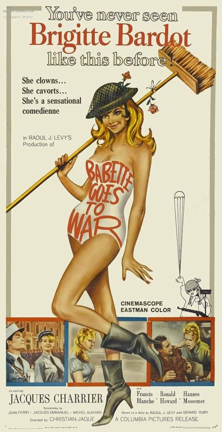 Babette Goes to War movie poster