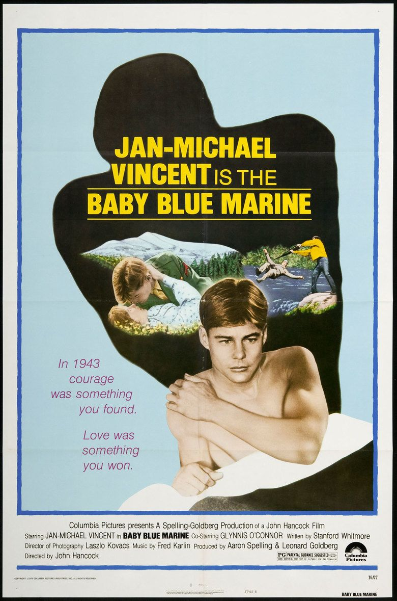 Baby Blue Marine movie poster