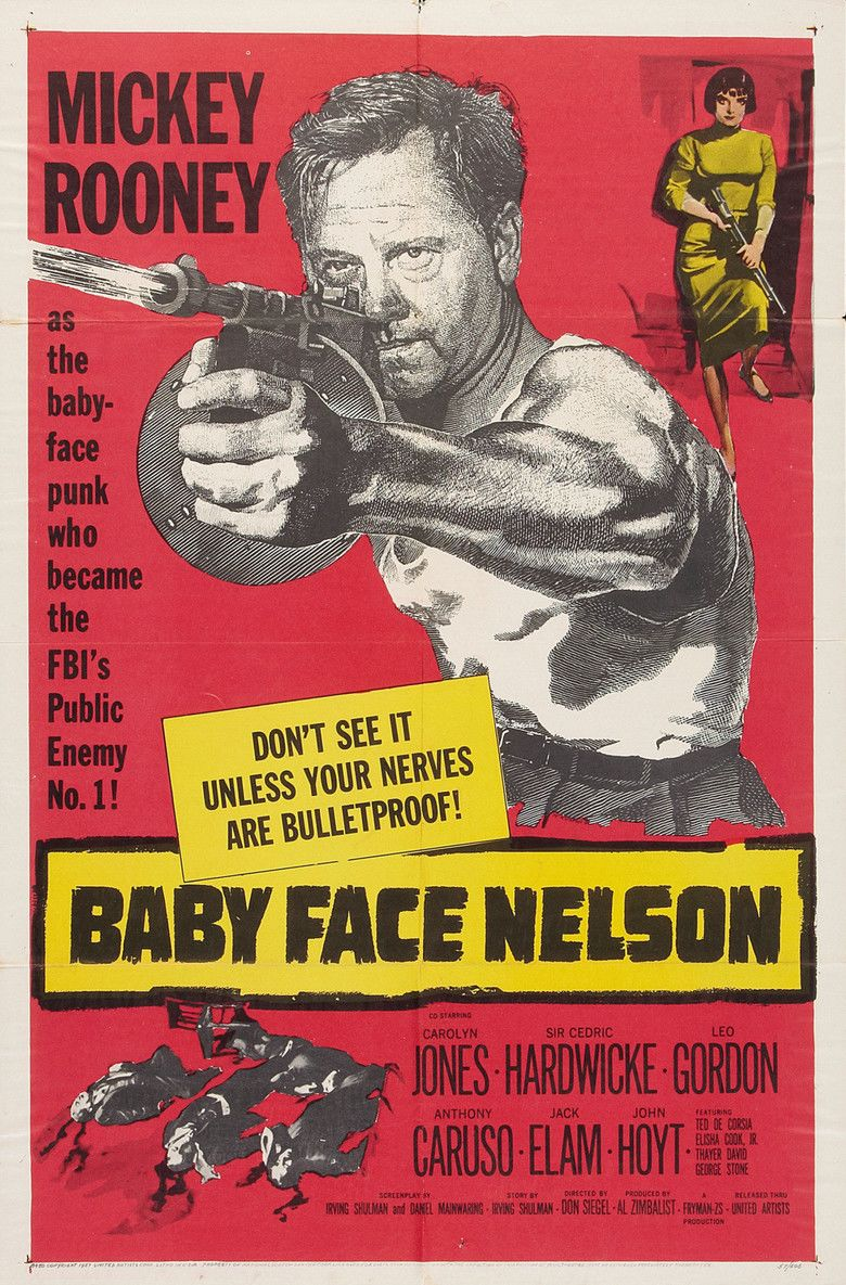 Baby Face Nelson (film) movie poster