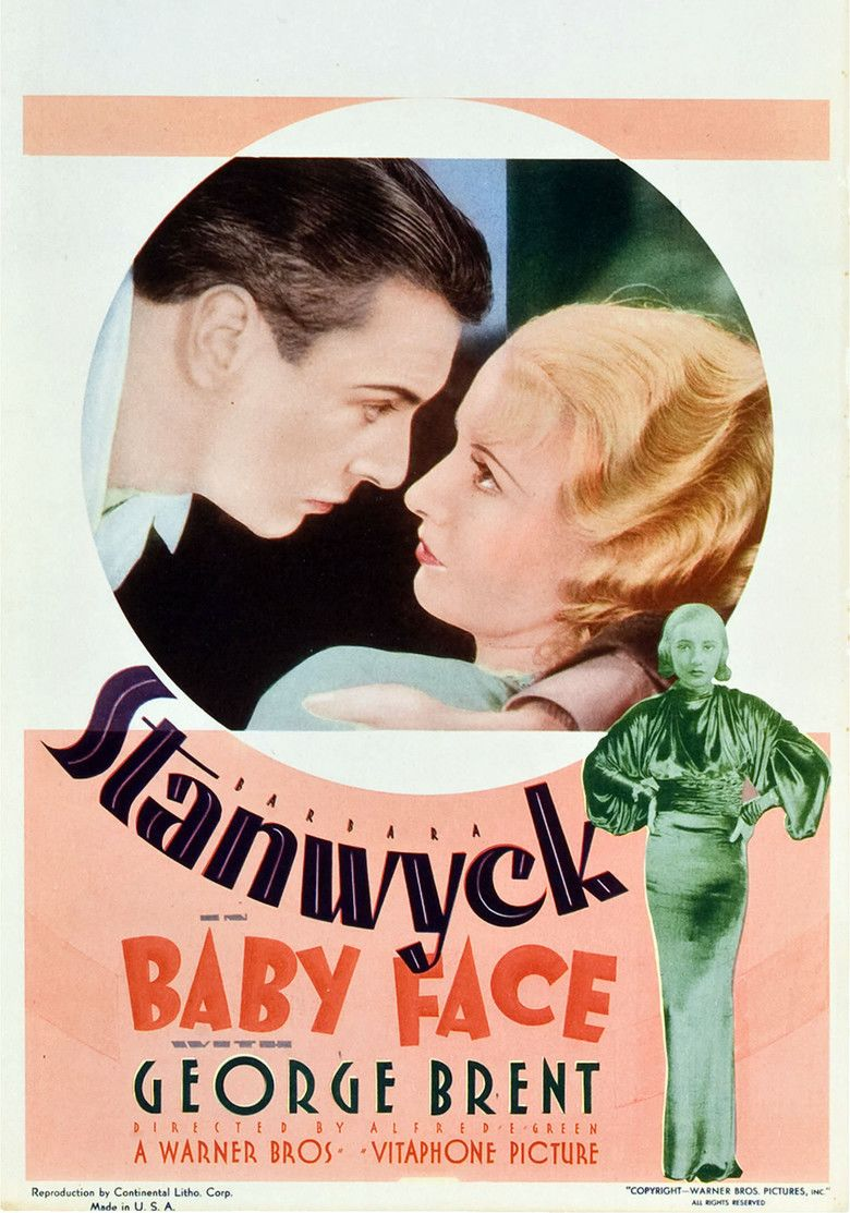 Baby Face (film) movie poster