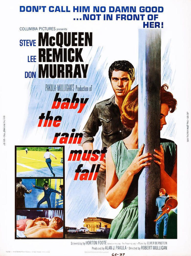 Baby the Rain Must Fall movie poster