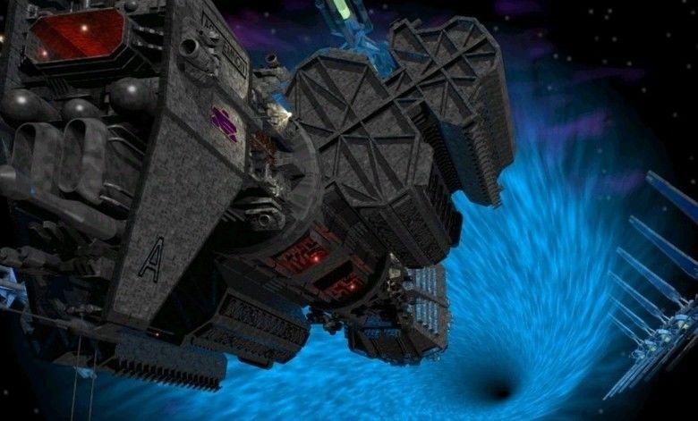Babylon 5: Thirdspace movie scenes