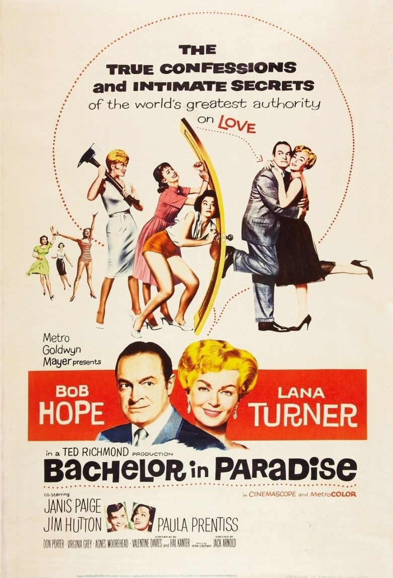 Bachelor in Paradise (film) movie poster