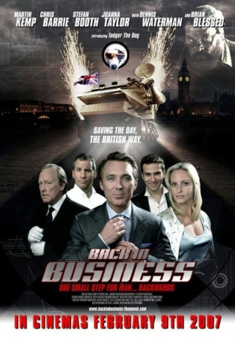 Back in Business (2007 film) movie poster