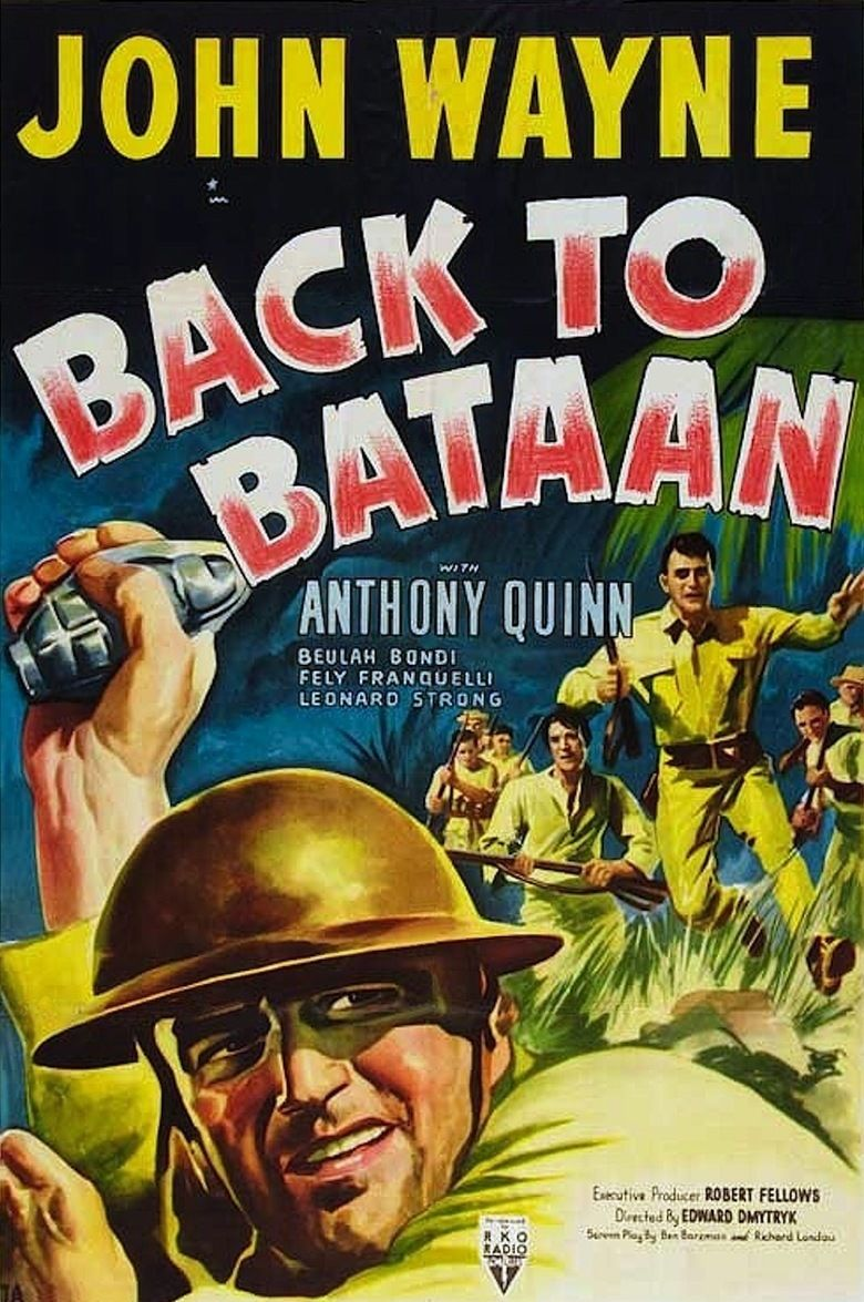 Back to Bataan movie poster