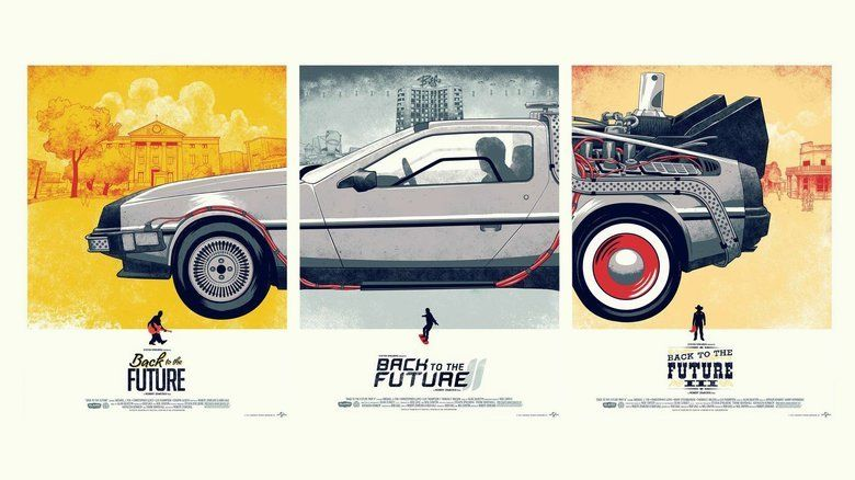 Back to the Future Part II movie scenes