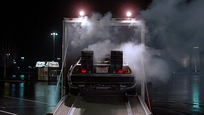 Back to the Future movie scenes