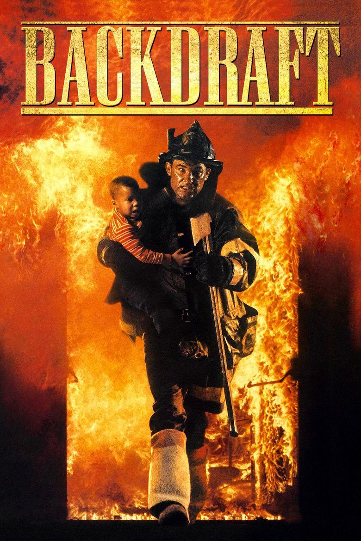 Backdraft (film) movie poster