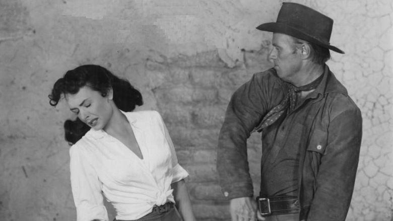 Backlash (1956 film) movie scenes