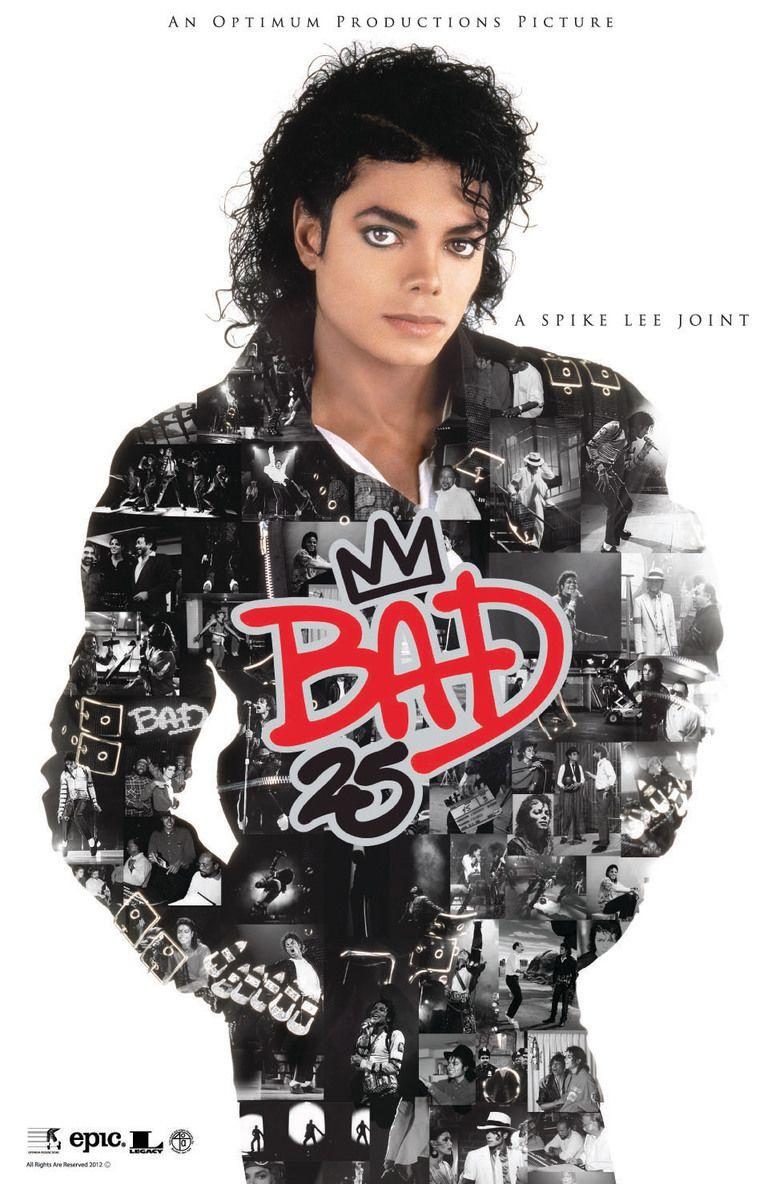 Bad 25 (film) movie poster