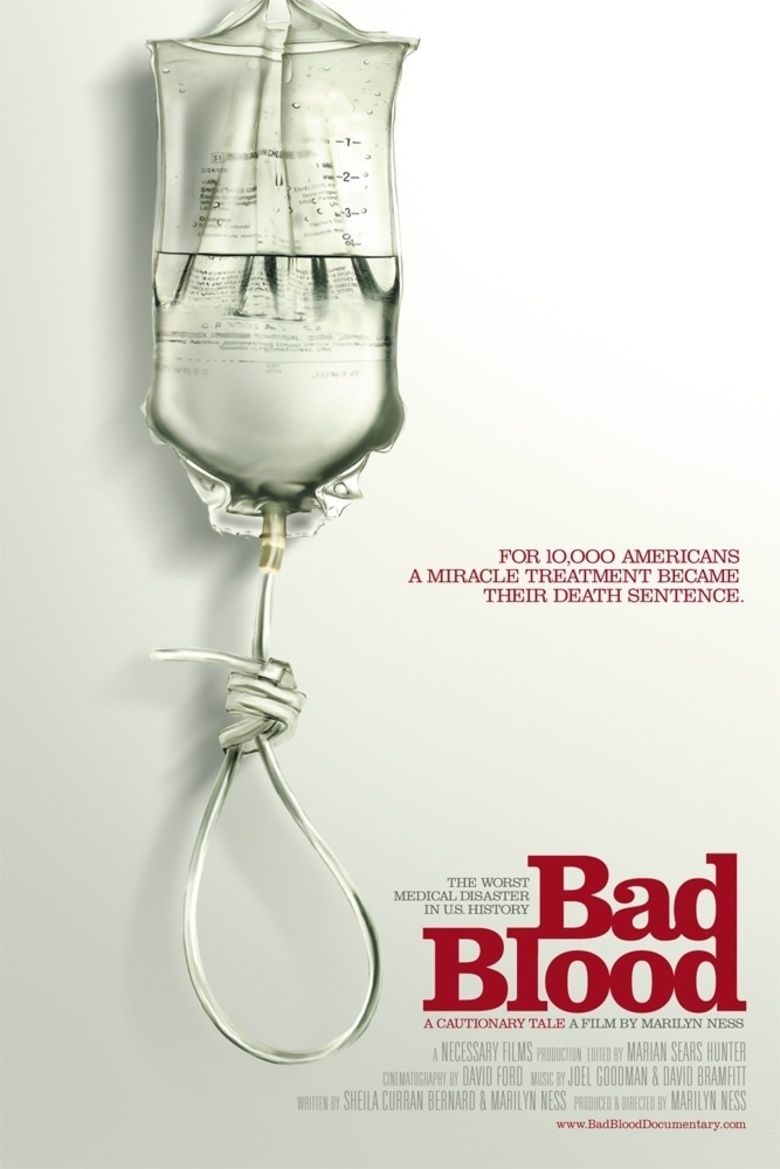 Bad Blood: A Cautionary Tale movie poster