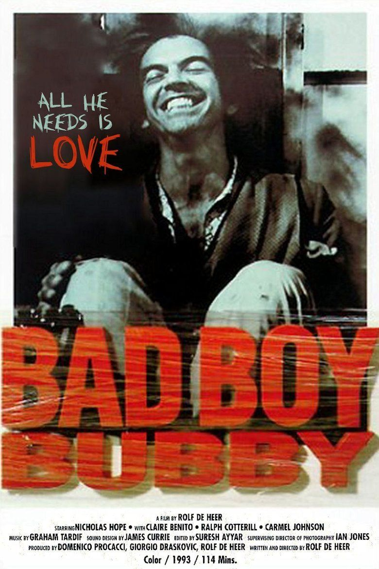 Bad Boy Bubby movie poster