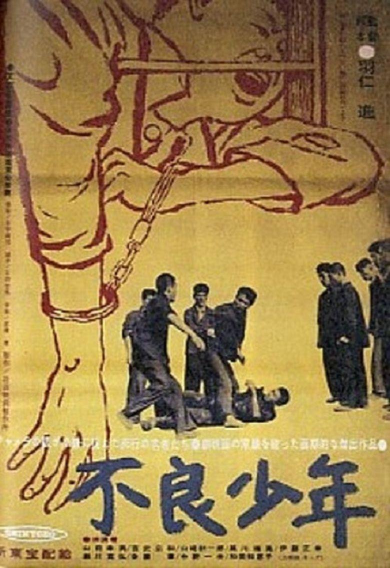 Bad Boys (1961 film) movie poster