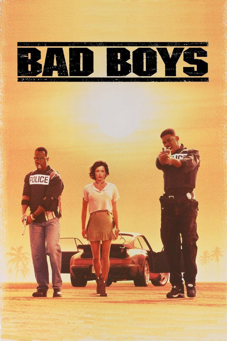 Bad Boys (1995 film) movie poster