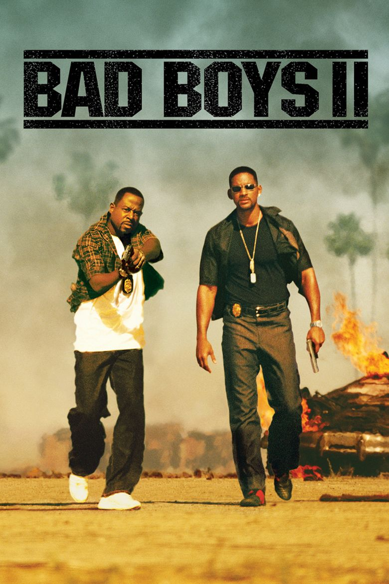 Bad Boys II movie poster