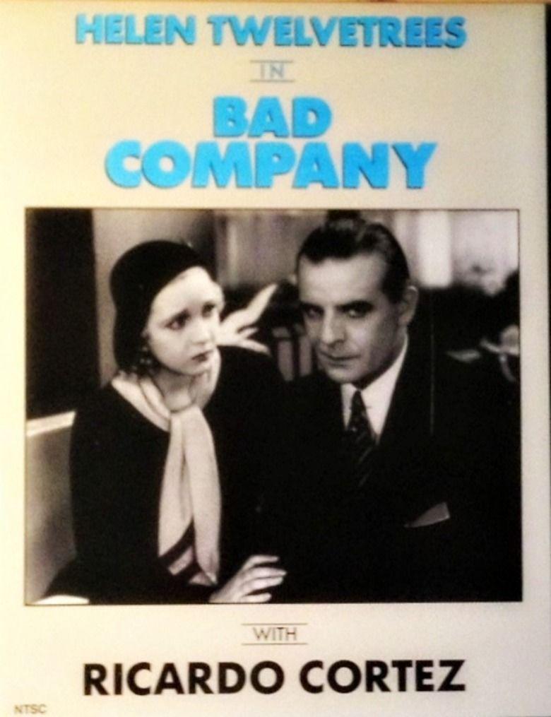 Bad Company (1931 film) movie poster