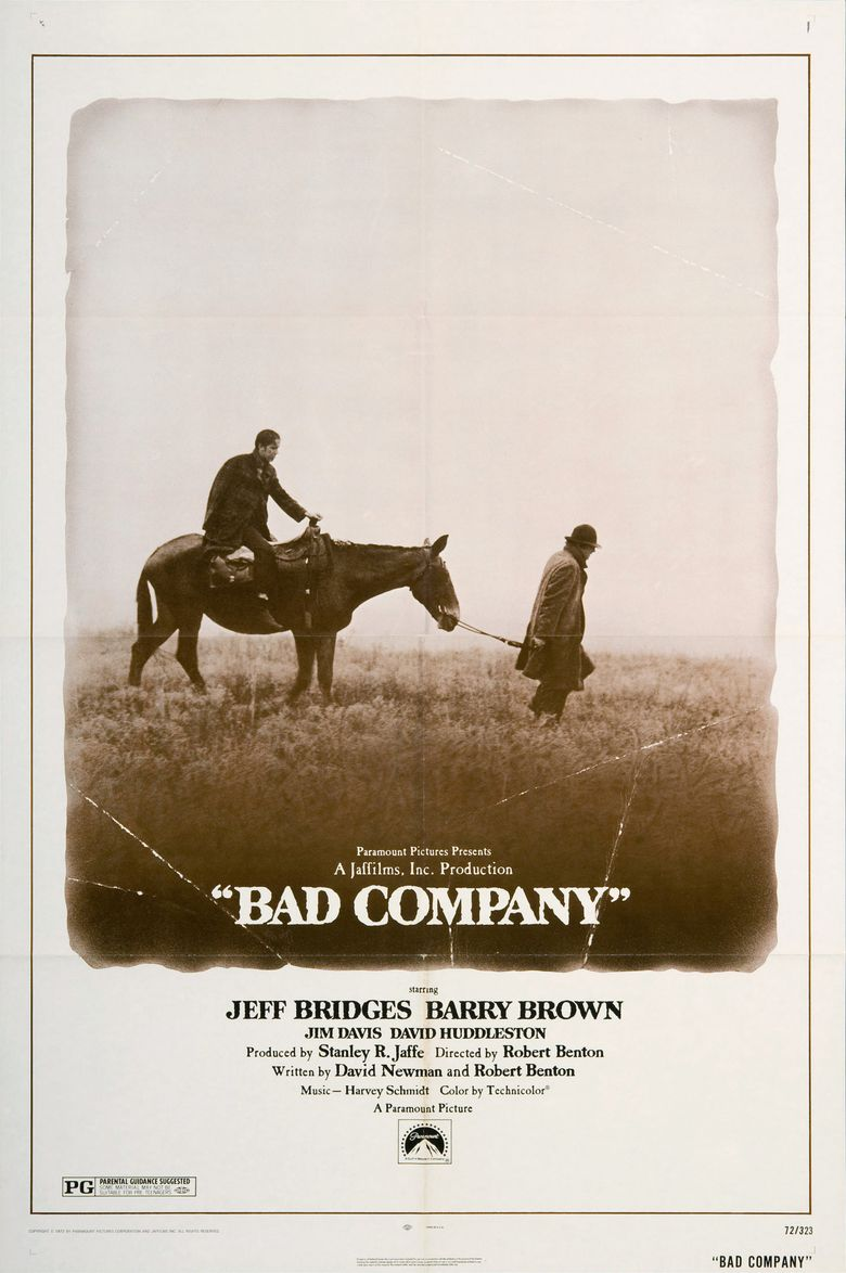 Bad Company (1972 film) movie poster