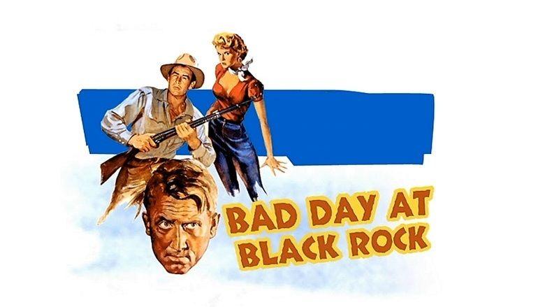 Bad Day at Black Rock movie scenes