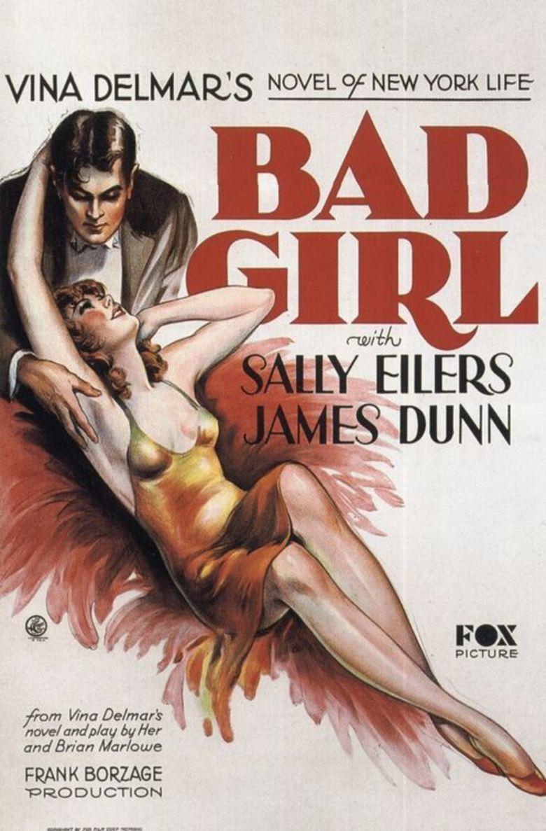 Bad Girl (1931 film) movie poster
