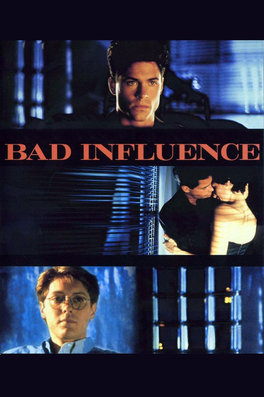 Bad Influence (film) movie poster