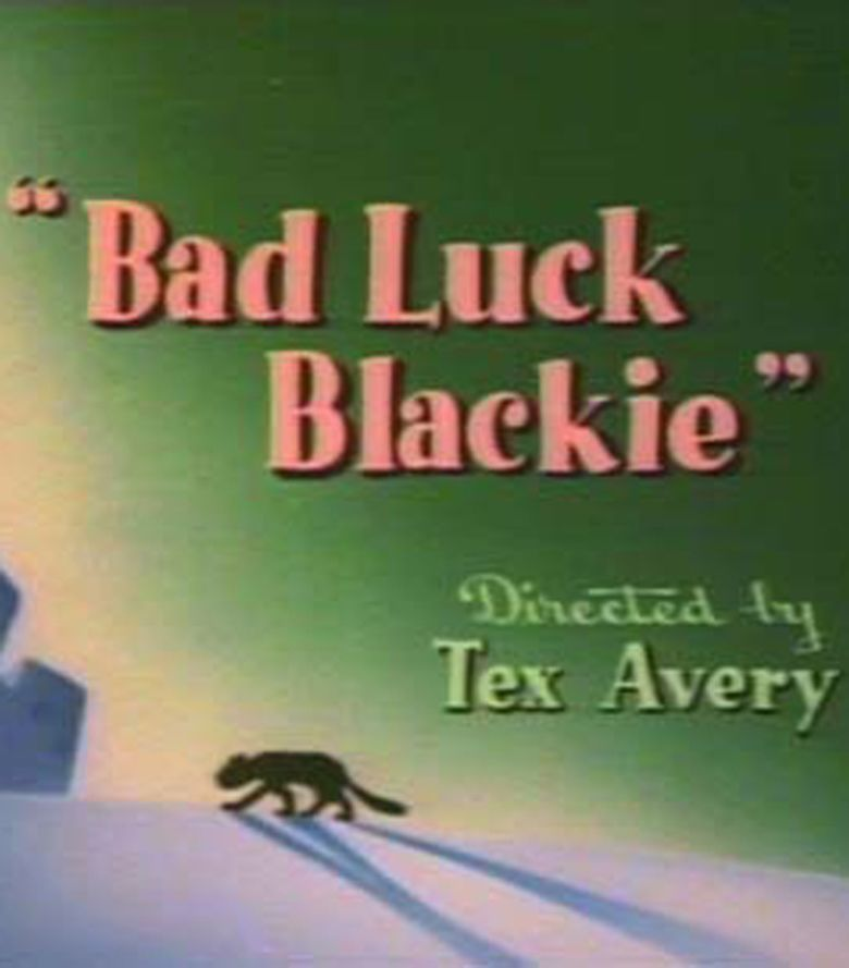 Bad Luck Blackie movie poster