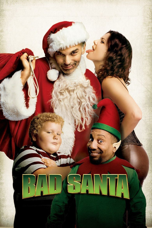 Bad Santa movie poster