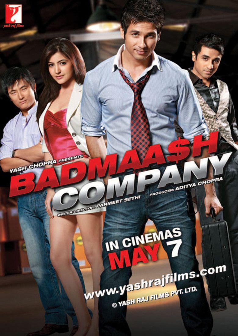 Badmaash Company movie poster