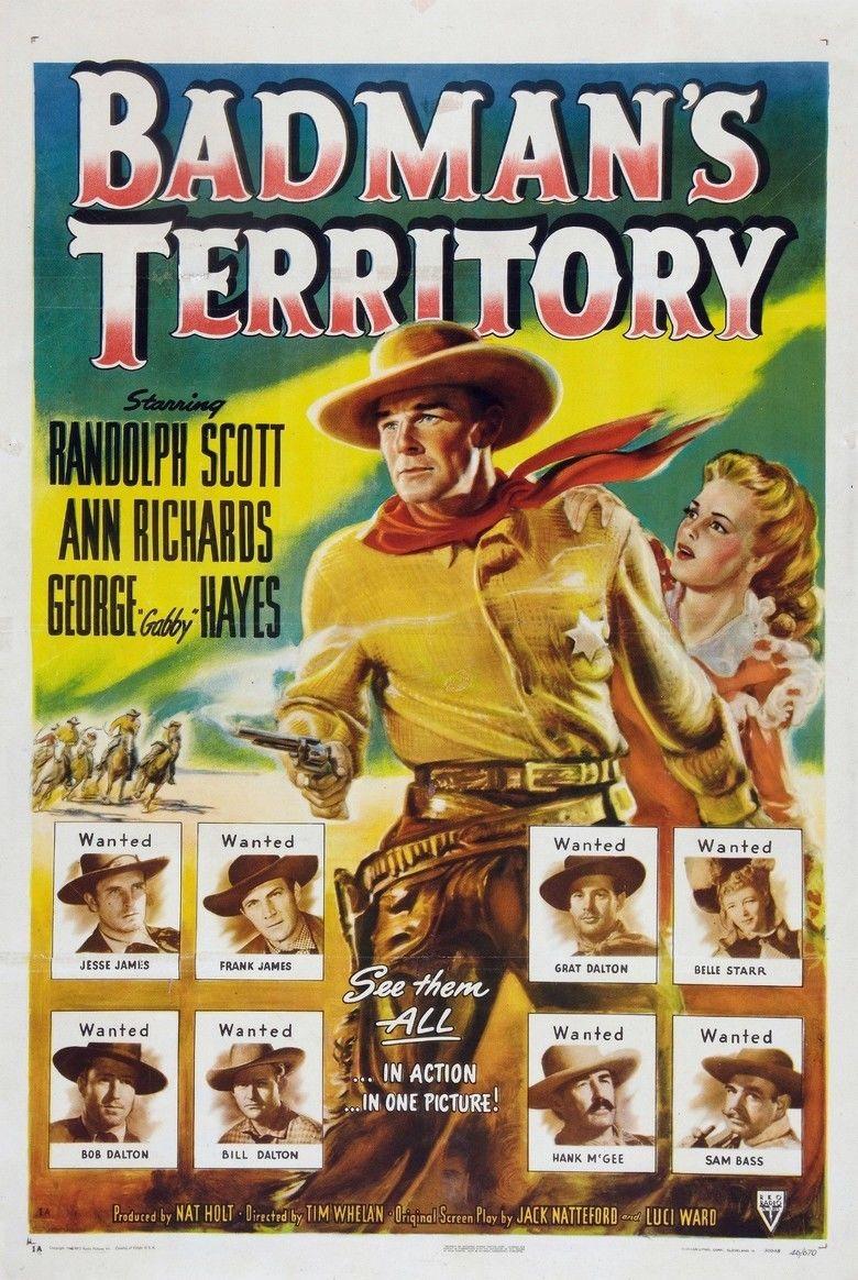 Badmans Territory movie poster