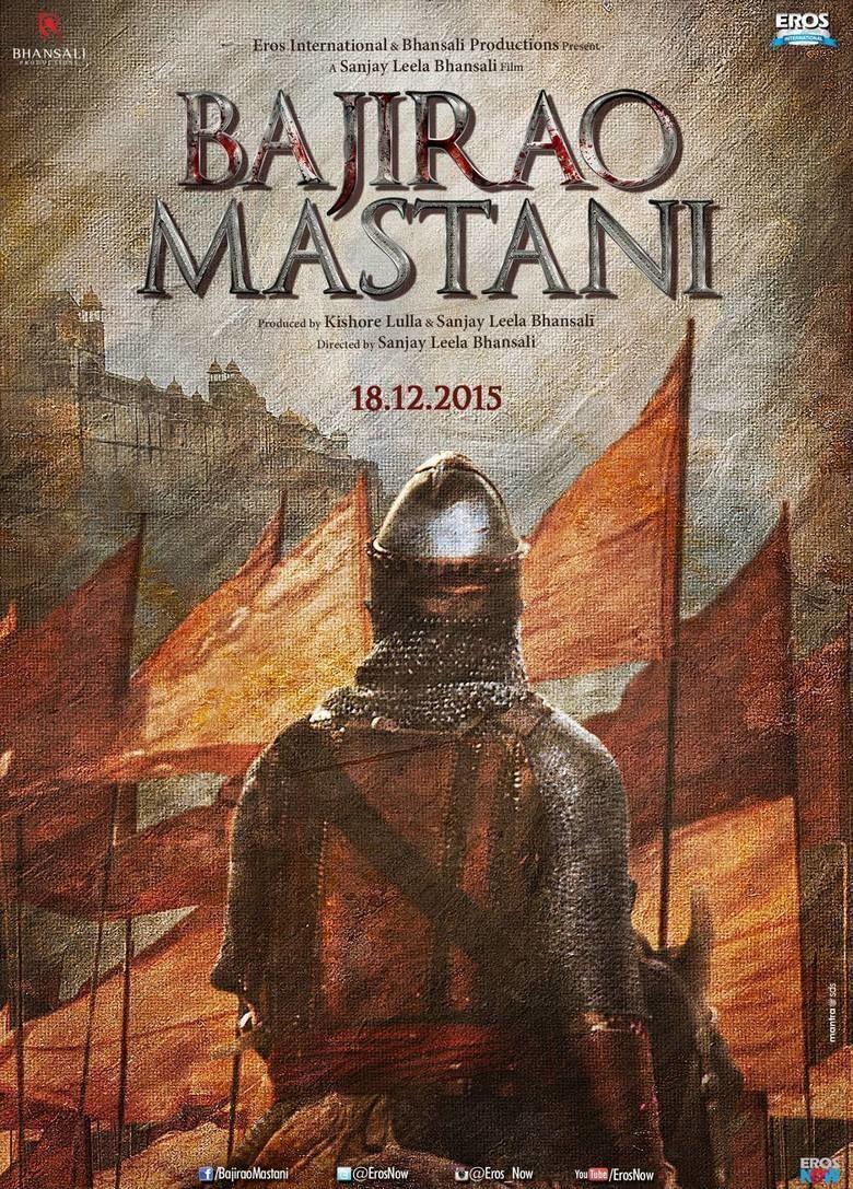 Bajirao Mastani (film) movie poster