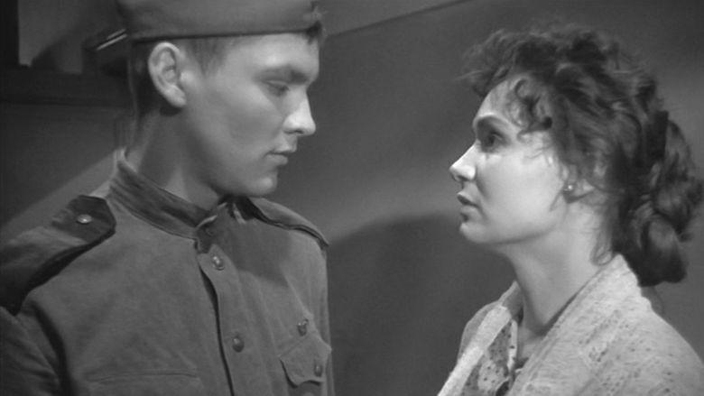Ballad of a Soldier movie scenes