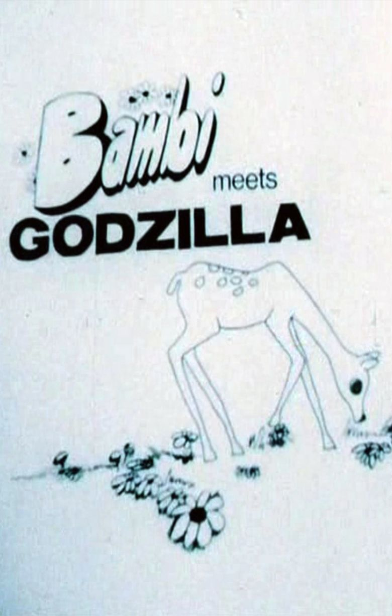 Bambi Meets Godzilla movie poster