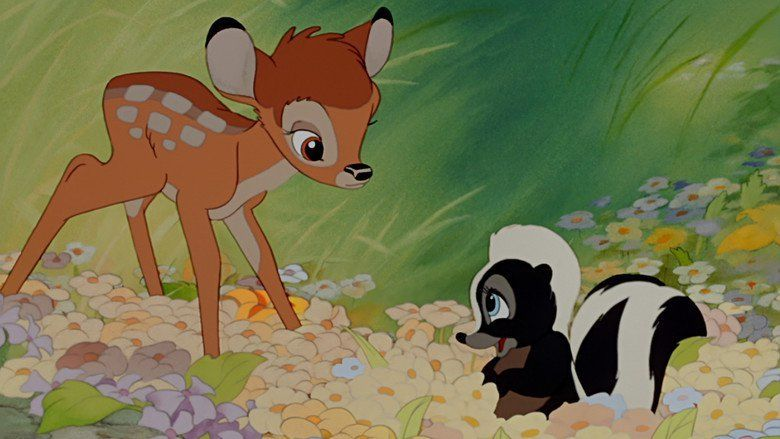 Bambi movie scenes