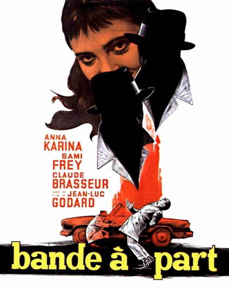 Bande a part (film) movie poster