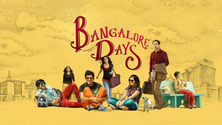 Bangalore Days movie scenes