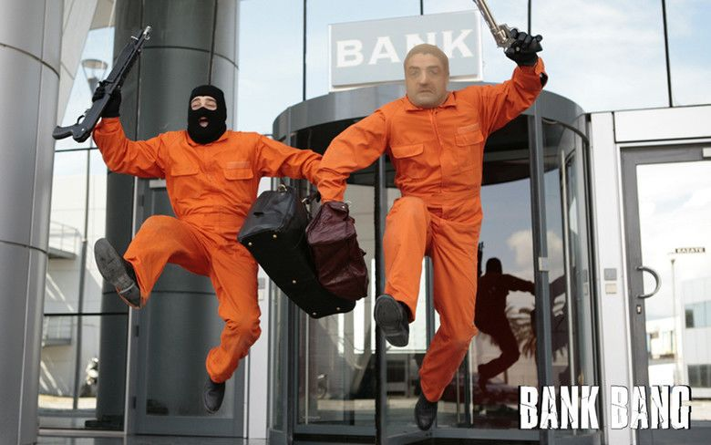 Bank Bang movie scenes