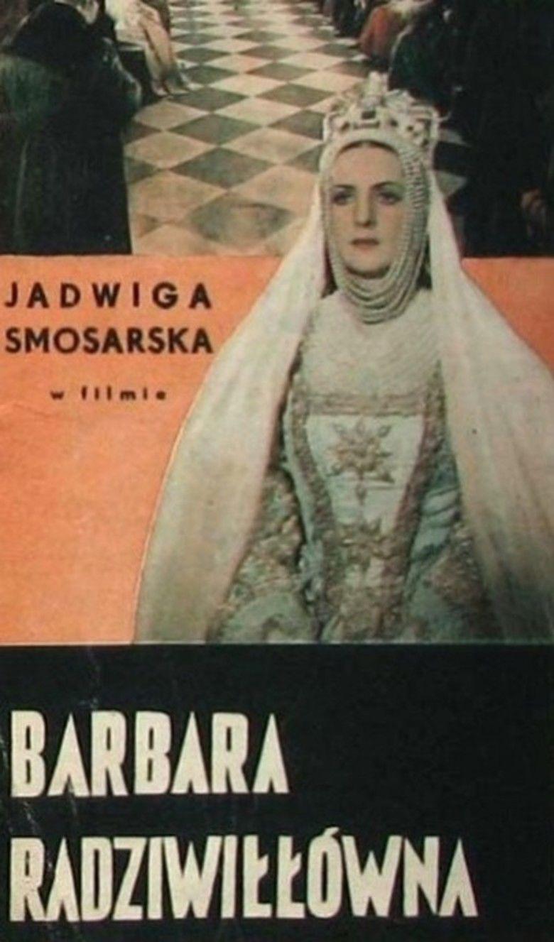 Barbara Radziwillowna (film) movie poster