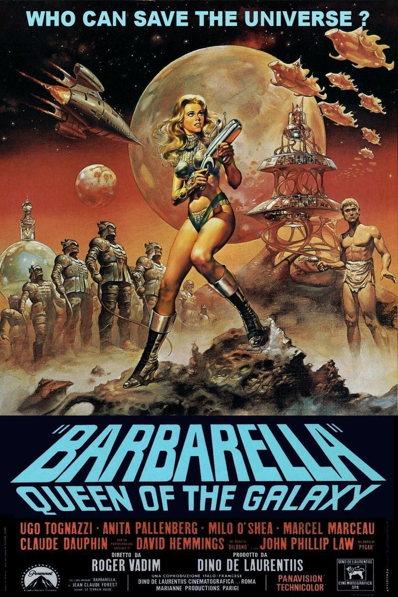 Barbarella (film) movie poster