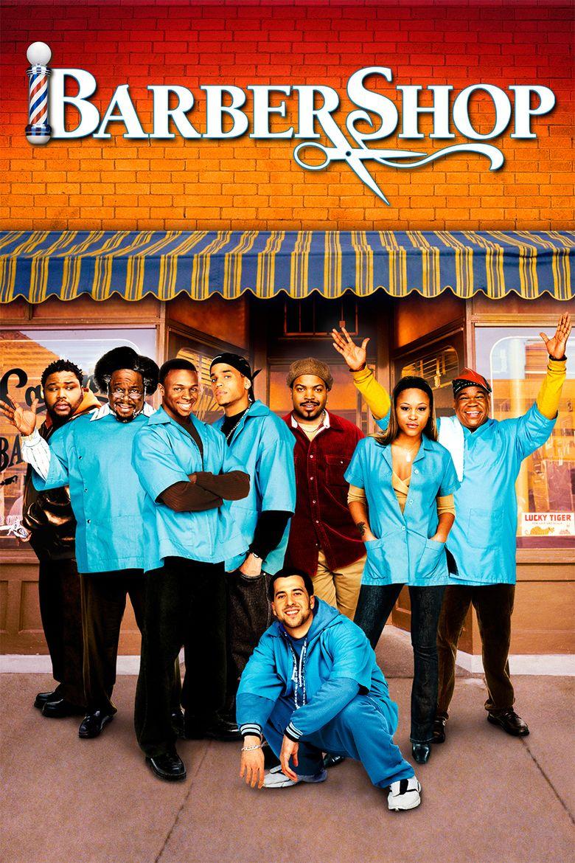 Barbershop (film) movie poster