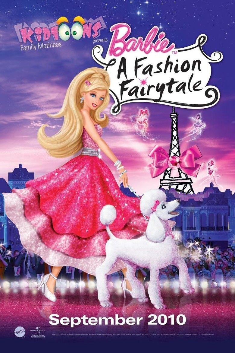 Barbie: A Fashion Fairytale movie poster