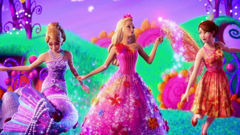 Barbie and the Secret Door movie scenes