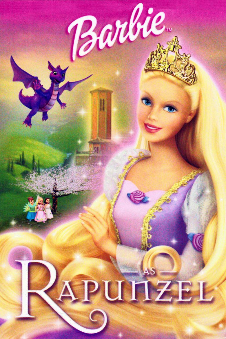 Barbie as Rapunzel movie poster