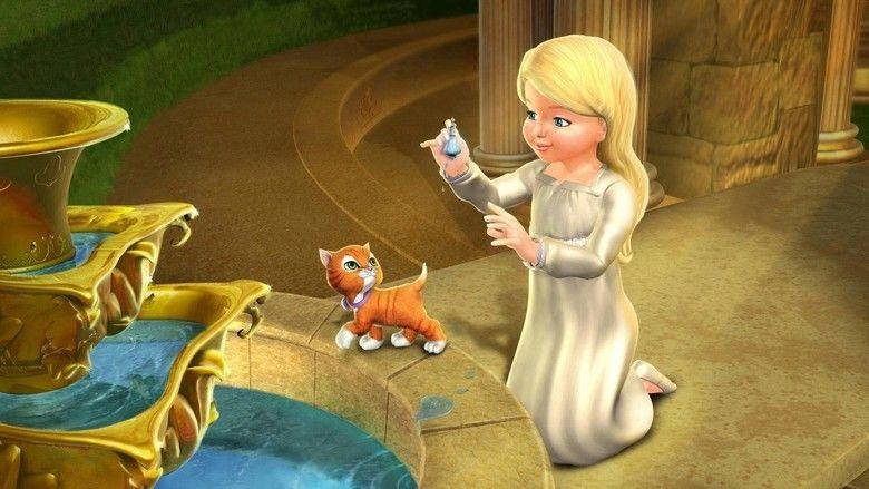 Barbie in the 12 Dancing Princesses movie scenes