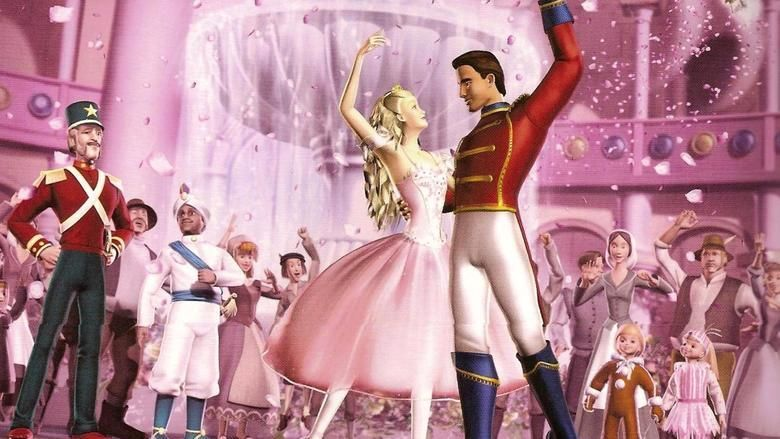 Barbie in the Nutcracker movie scenes