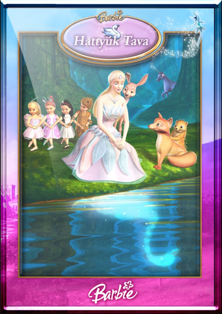 Barbie of Swan Lake movie poster