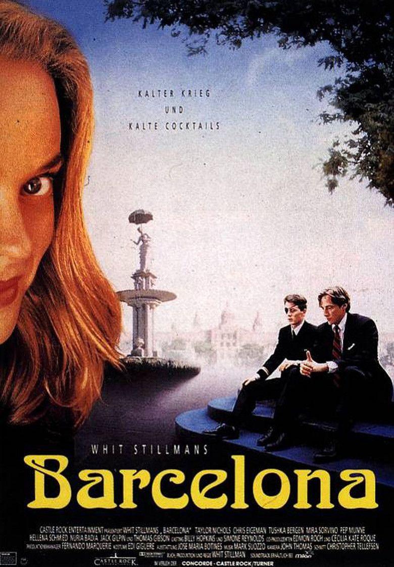 Barcelona (film) movie poster