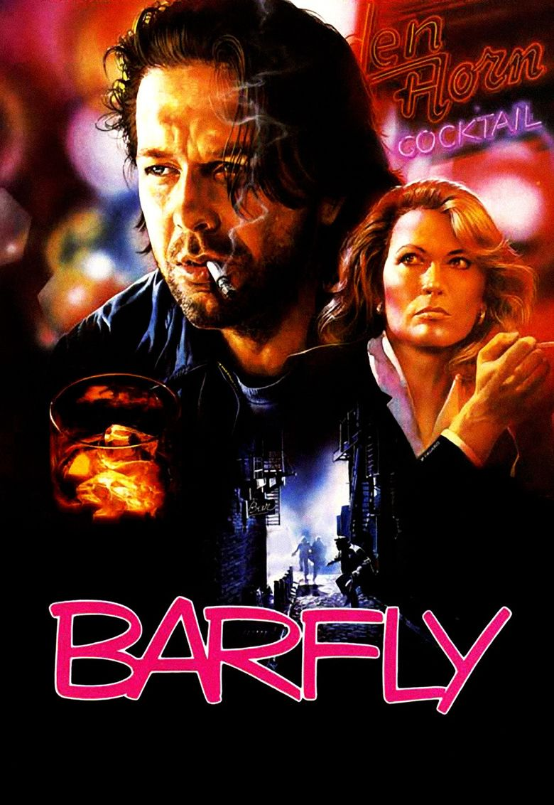 Barfly (film) movie poster