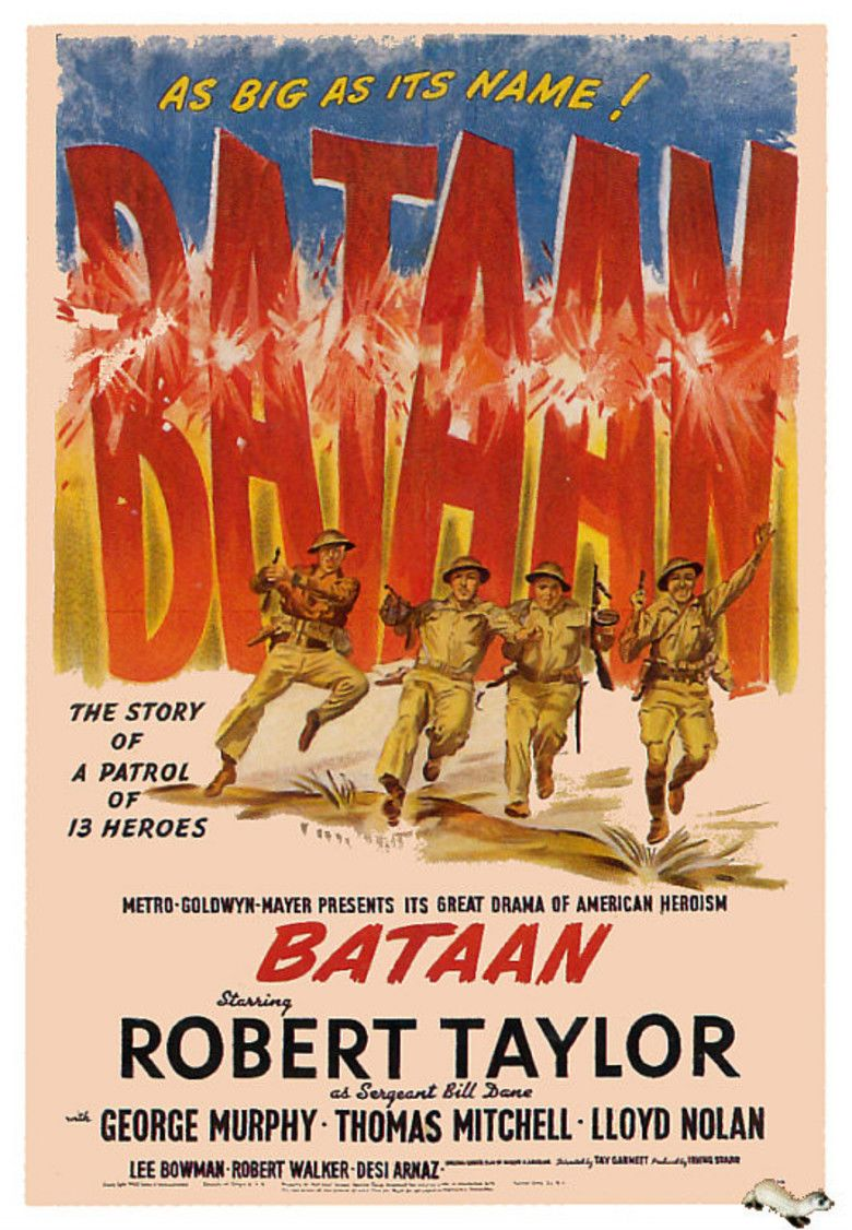Bataan (film) movie poster