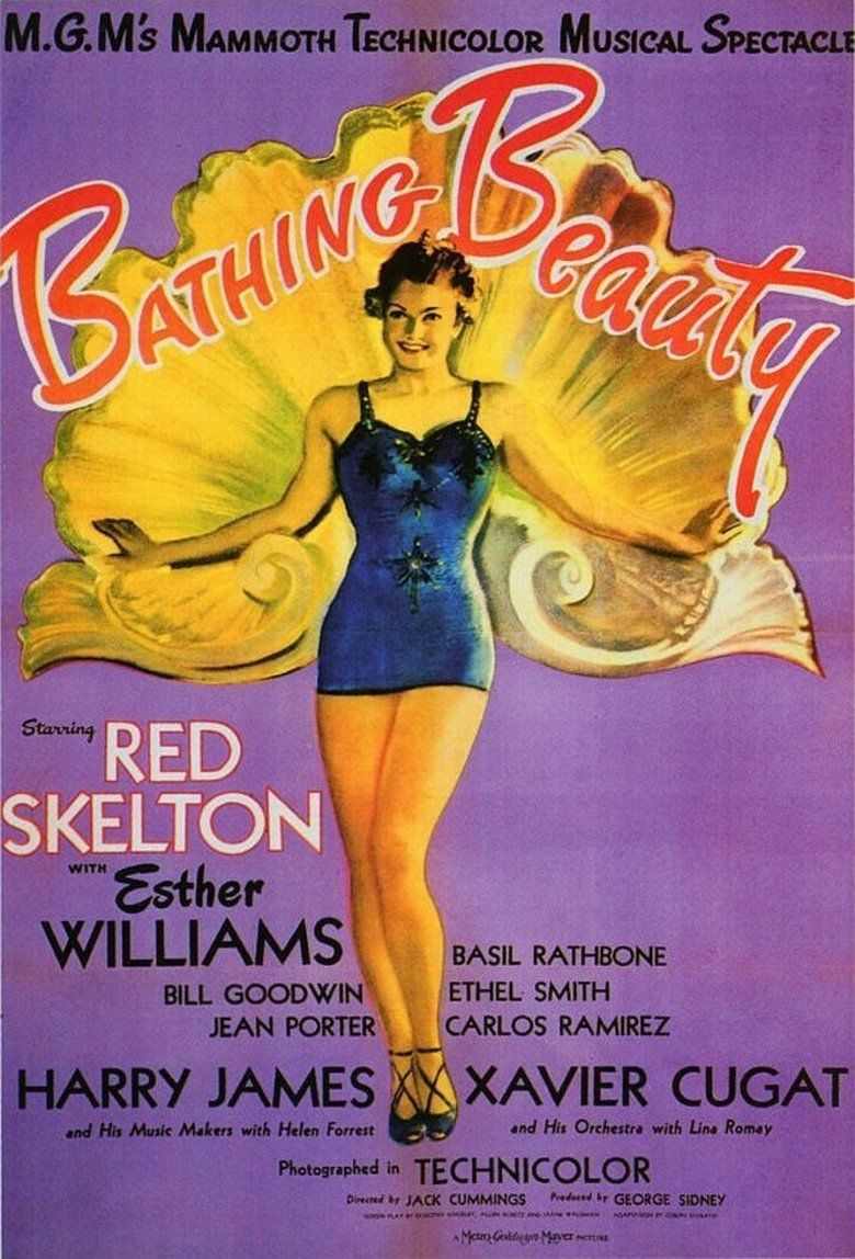 Bathing Beauty movie poster