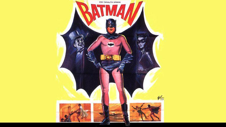 Batman (1966 film) movie scenes